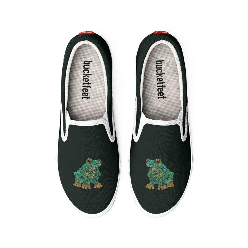 Amazon Tree Frog Men's Shoes by Thomas Orrow