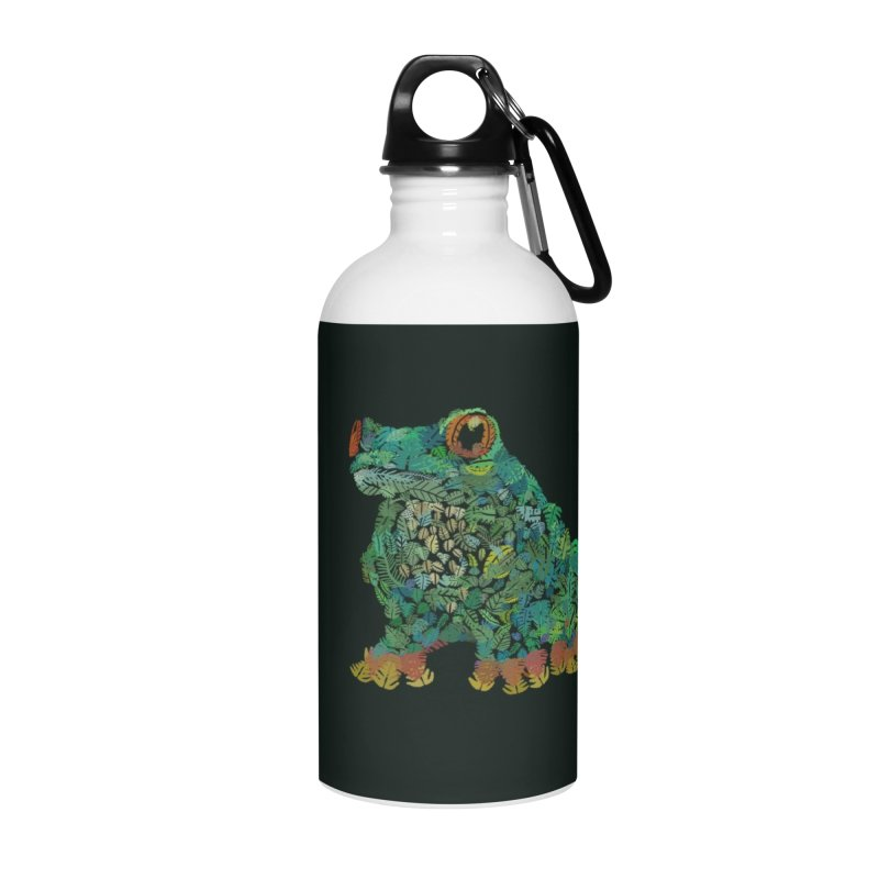 Amazon Tree Frog Accessories Water Bottle by Thomas Orrow