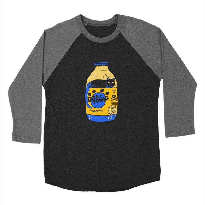 Catatonic Men's Baseball Triblend Longsleeve T-Shirt by Thomas Orrow