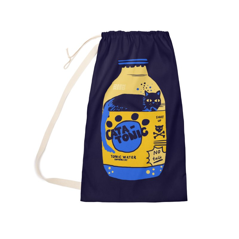 Catatonic Accessories Laundry Bag Bag by Thomas Orrow