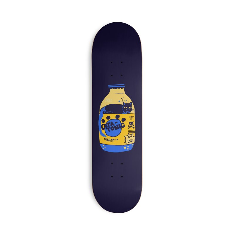 Catatonic Accessories Deck Only Skateboard by Thomas Orrow