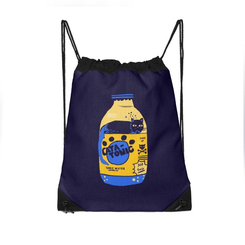Catatonic Accessories Drawstring Bag Bag by Thomas Orrow