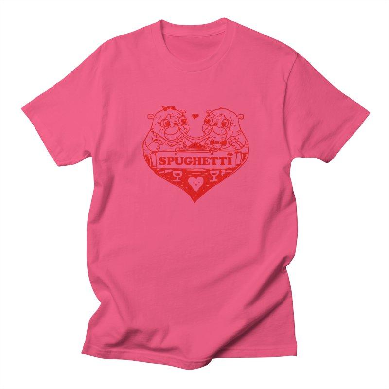 Spughetti Women's Regular Unisex T-Shirt by Thomas Orrow