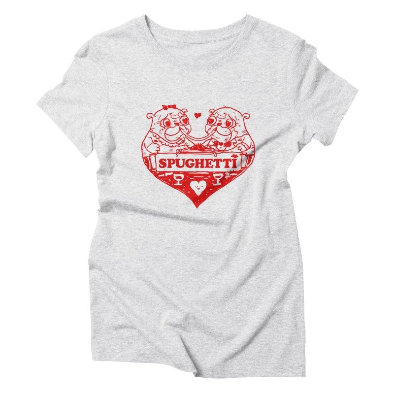 Spughetti Women's Triblend T-Shirt by Thomas Orrow