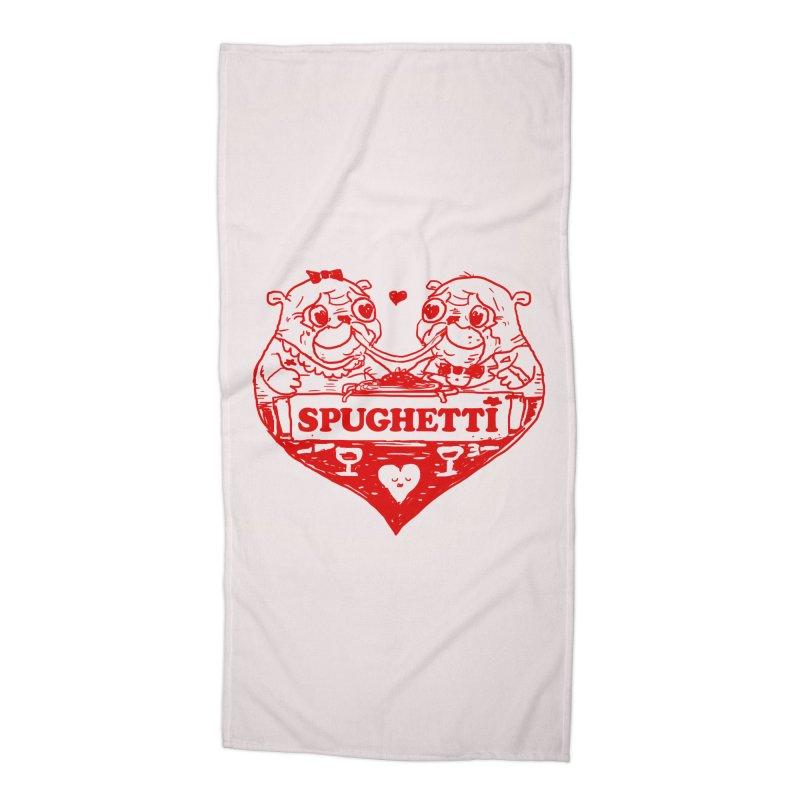 Spughetti Accessories Beach Towel by Thomas Orrow