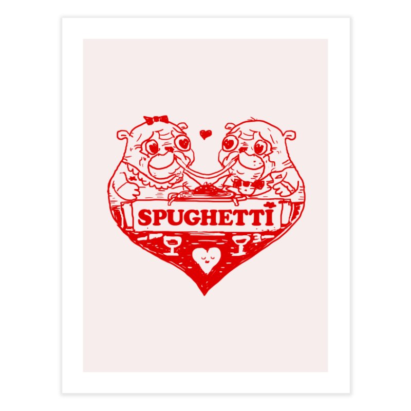 Spughetti Home Fine Art Print by Thomas Orrow
