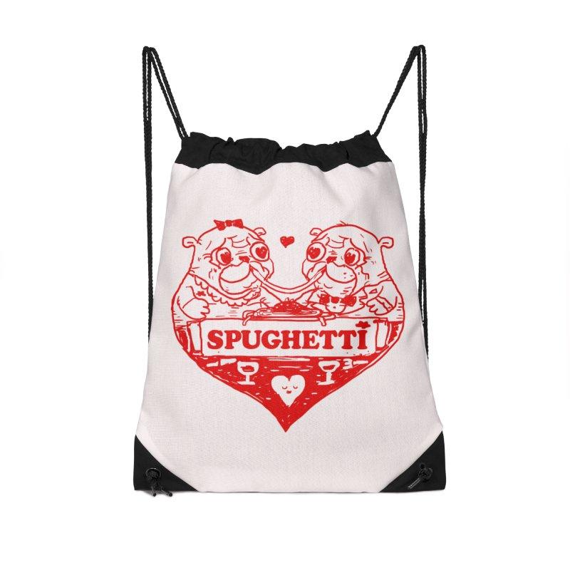 Spughetti Accessories Drawstring Bag Bag by Thomas Orrow