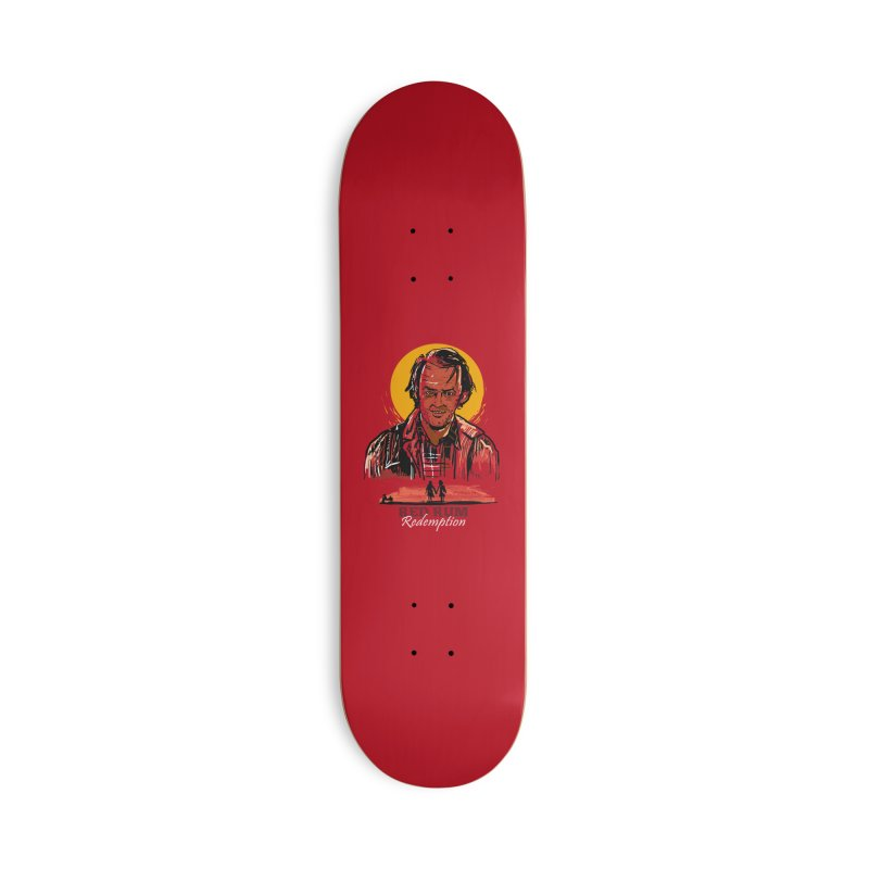 Red Rum Accessories Deck Only Skateboard by Thomas Orrow