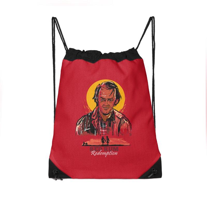 Red Rum Accessories Drawstring Bag Bag by Thomas Orrow