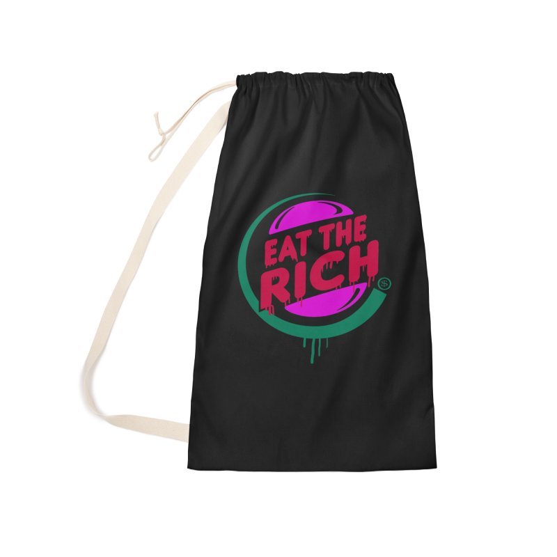 Eat the Rich Accessories Laundry Bag Bag by Thomas Orrow