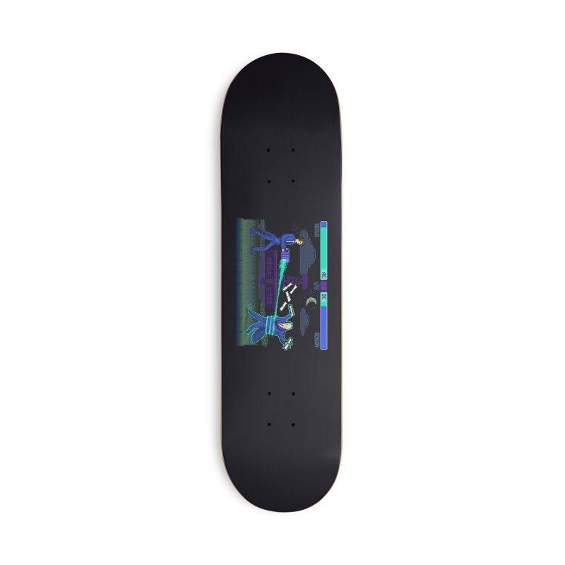 Tesla Vs. Edison Accessories Deck Only Skateboard by Thomas Orrow