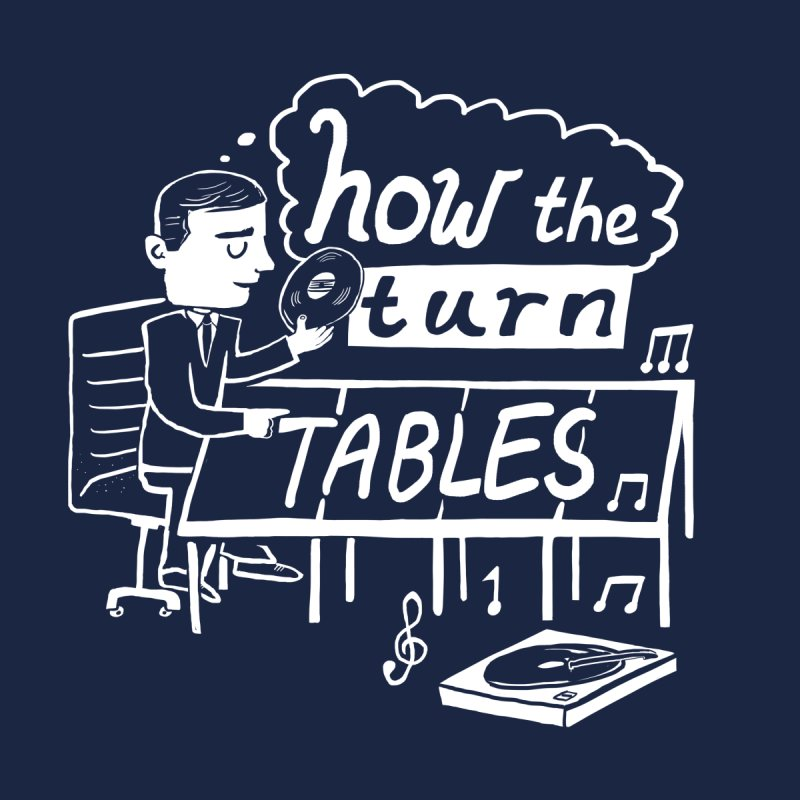 How the turn tables Home Duvet by Thomas Orrow