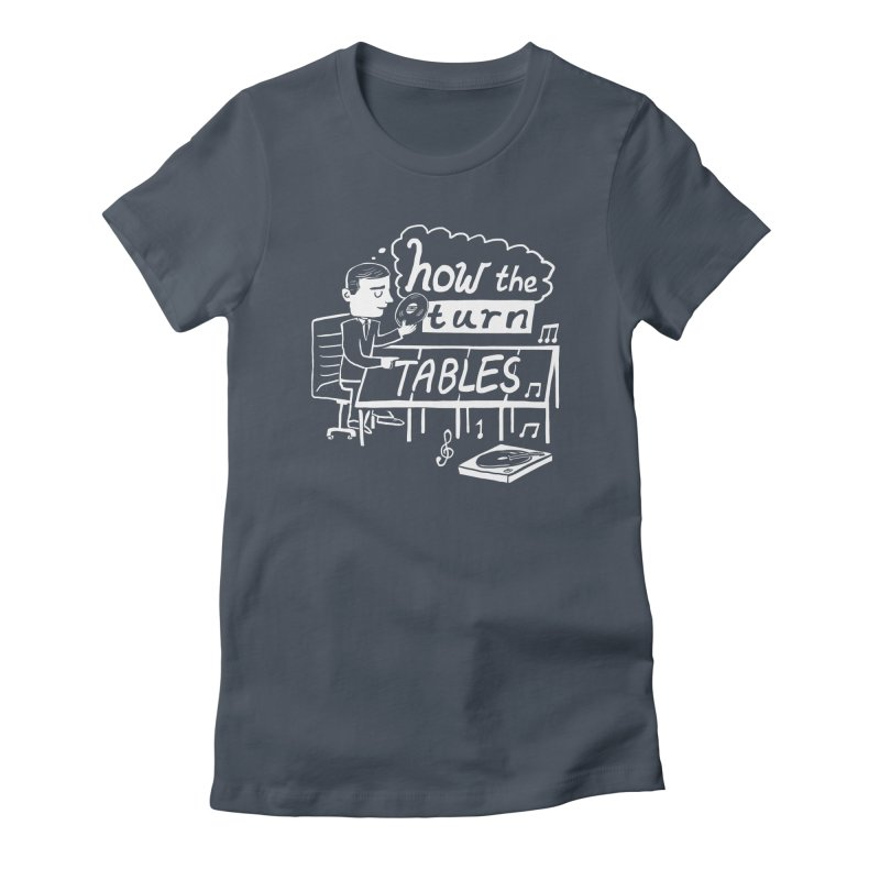 How the turn tables Women's T-Shirt by Thomas Orrow