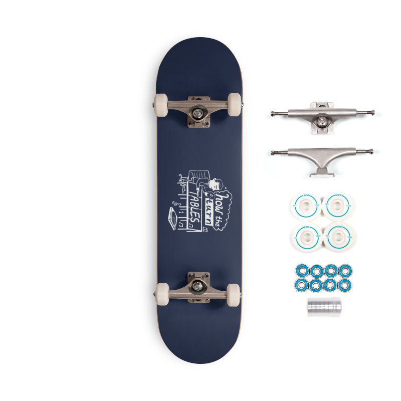 How the turn tables Accessories Skateboard by Thomas Orrow