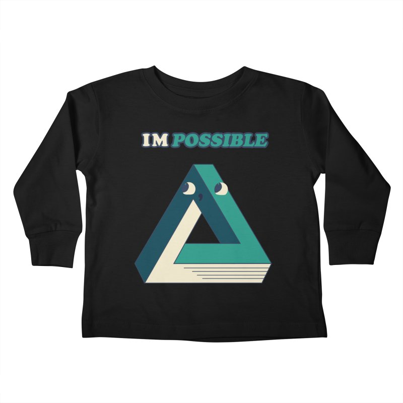 Possible Kids Toddler Longsleeve T-Shirt by Thomas Orrow