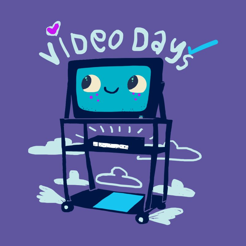 Video Days Women's T-Shirt by Thomas Orrow