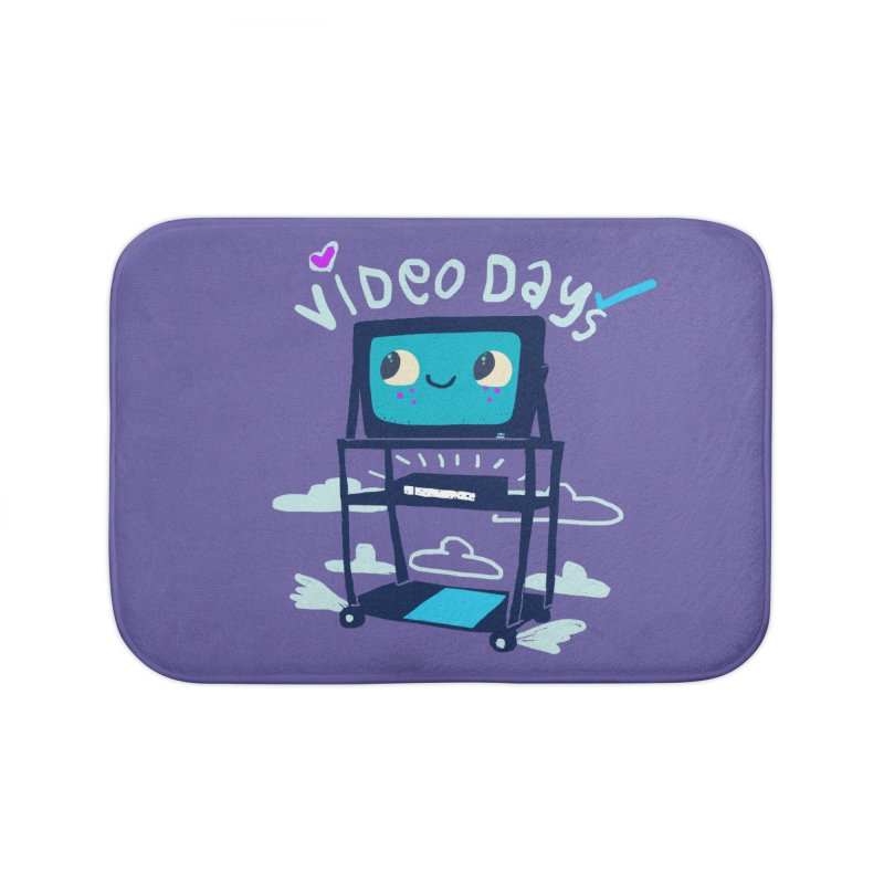 Video Days Home Bath Mat by Thomas Orrow