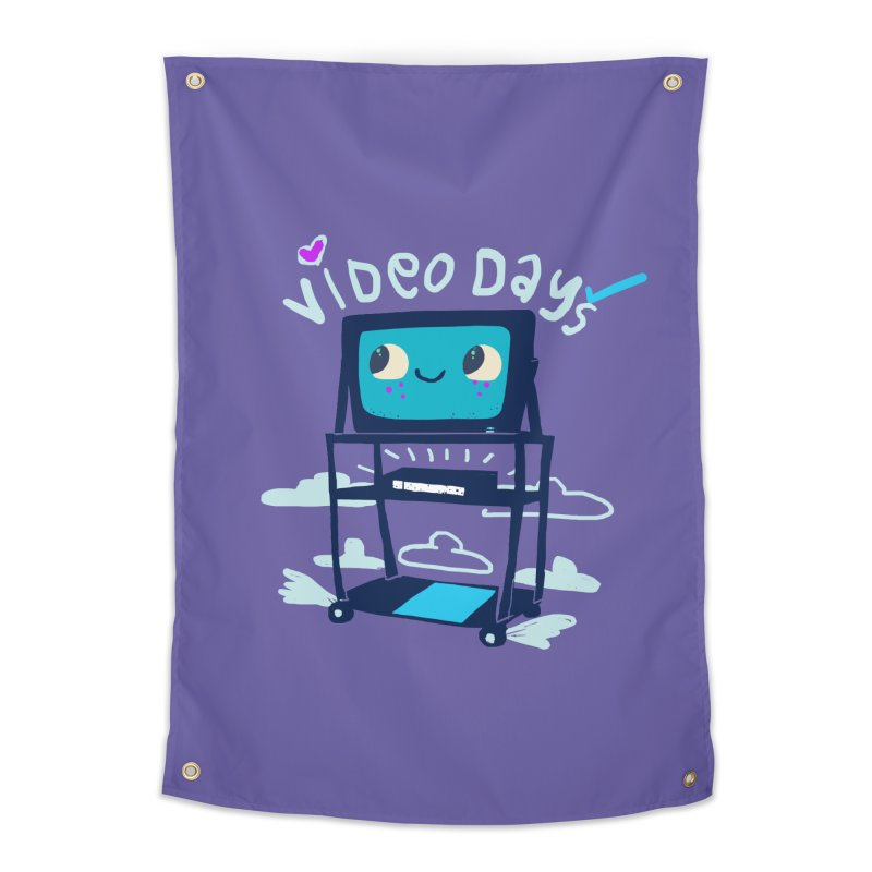 Video Days Home Tapestry by Thomas Orrow