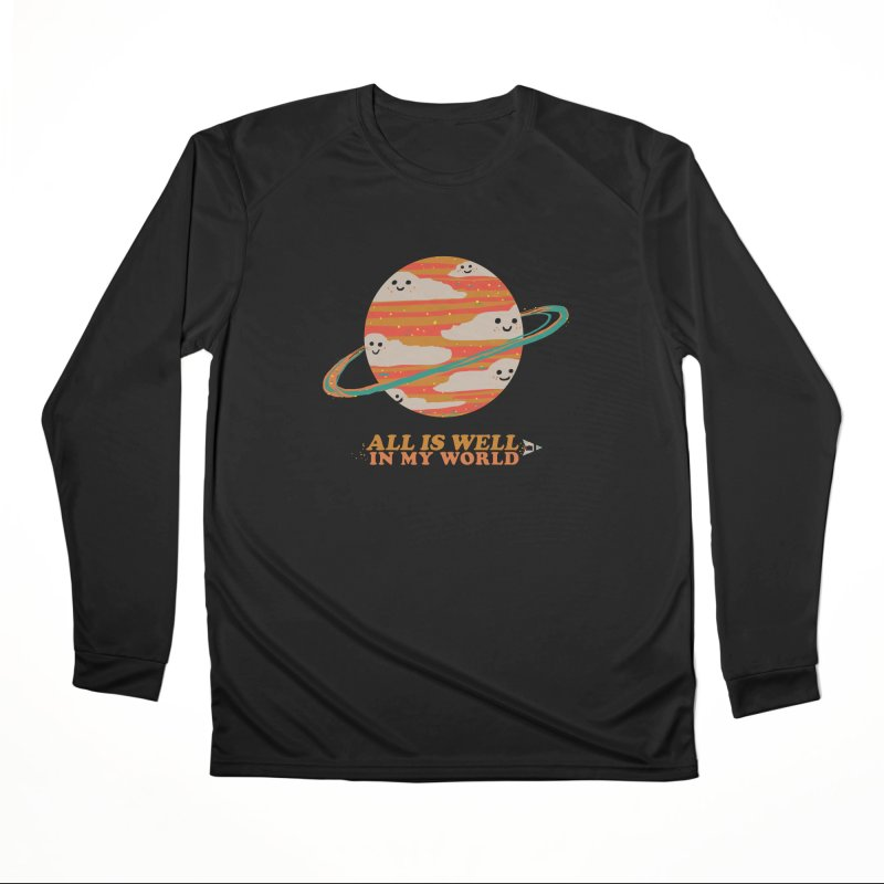 All is Well in My World Men's Longsleeve T-Shirt by Thomas Orrow