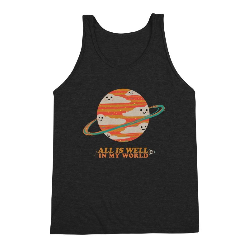 All is Well in My World Men's Tank by Thomas Orrow