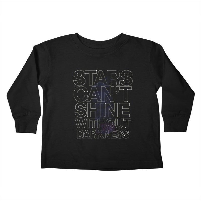 Stars Kids Toddler Longsleeve T-Shirt by Thomas Orrow