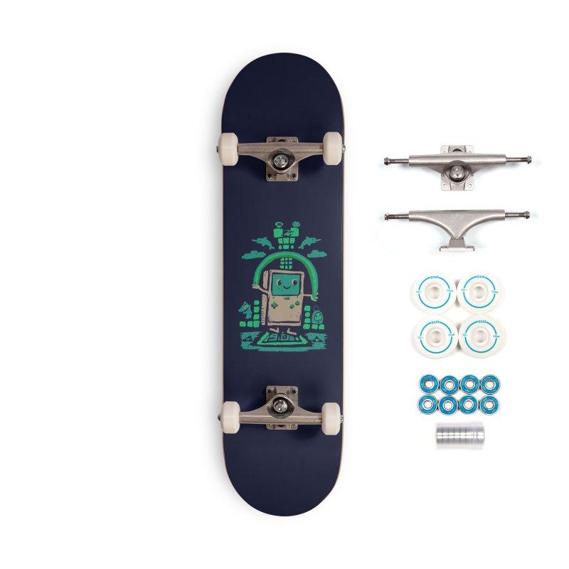 90s Kid Accessories Skateboard by Thomas Orrow