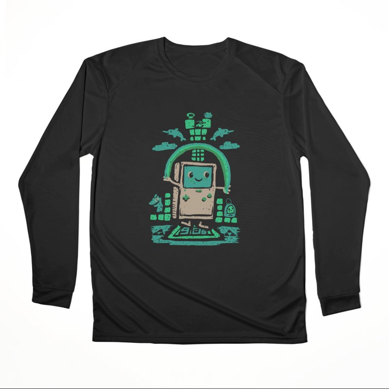 90s Kid Men's Longsleeve T-Shirt by Thomas Orrow