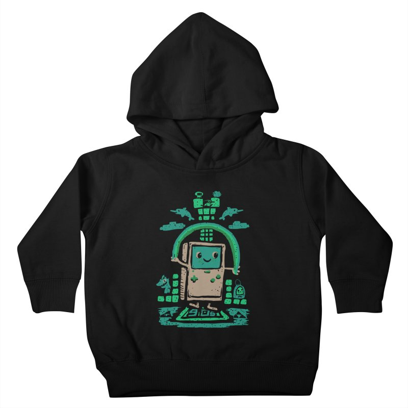 90s Kid Kids Toddler Pullover Hoody by Thomas Orrow