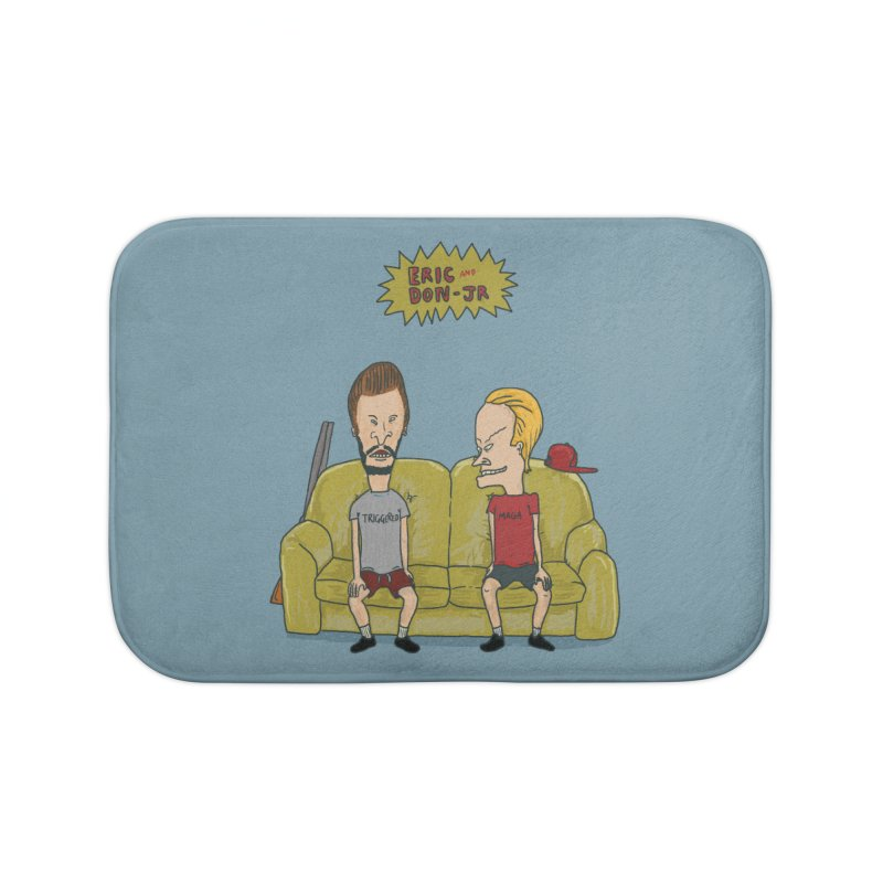 The Butt-Heads Home Bath Mat by Thomas Orrow