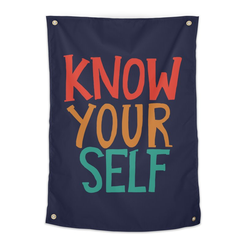 Know Yourself Home Tapestry by Thomas Orrow