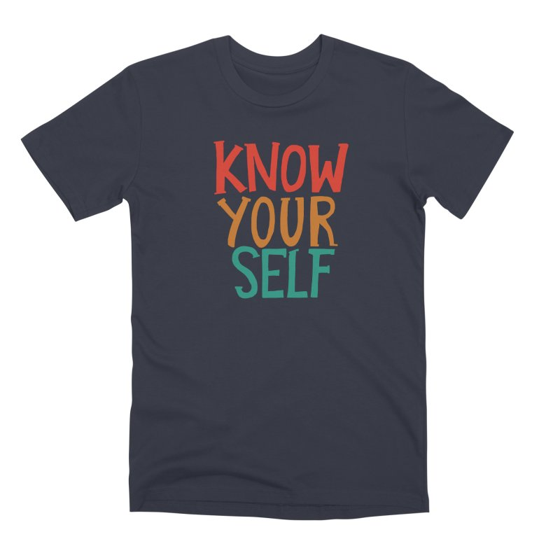 Know Yourself Men's T-Shirt by Thomas Orrow