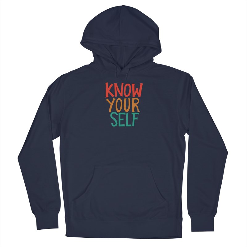 Know Yourself Men's Pullover Hoody by Thomas Orrow