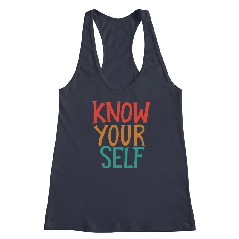 Know Yourself Women's Tank by Thomas Orrow
