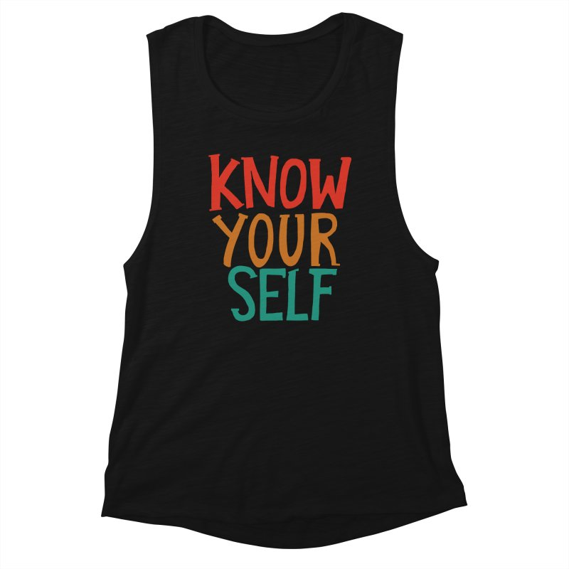 Know Yourself Women's Tank by Thomas Orrow