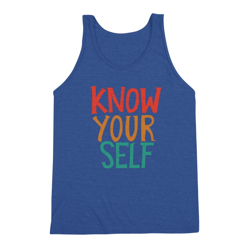 Know Yourself Men's Tank by Thomas Orrow