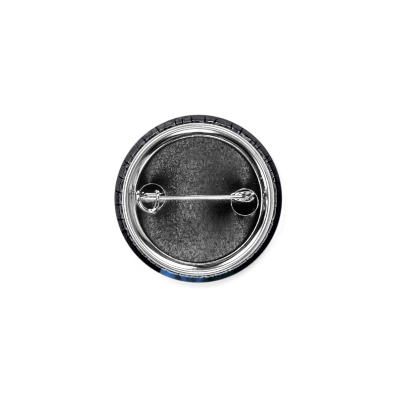 Girl with Covid-19 Accessories Button by Thomas Orrow