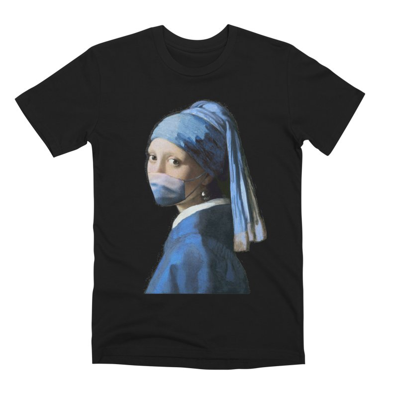 Girl with Covid-19 Men's T-Shirt by Thomas Orrow