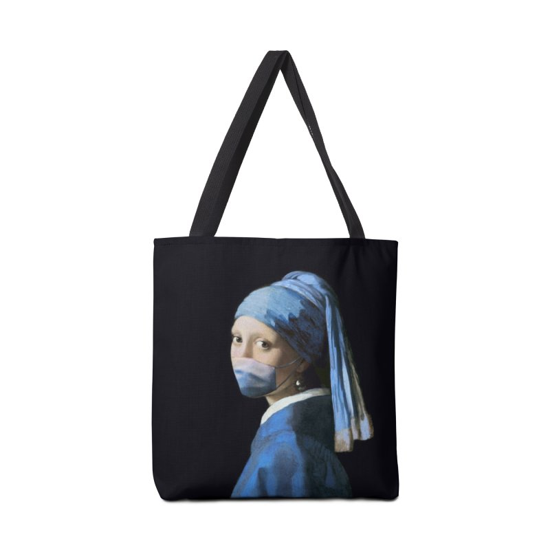 Girl with Covid-19 Accessories Bag by Thomas Orrow