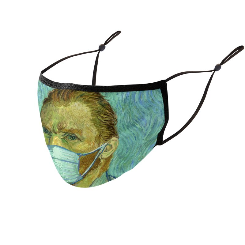 Vincent's Self-Isolation Accessories Face Mask by Thomas Orrow