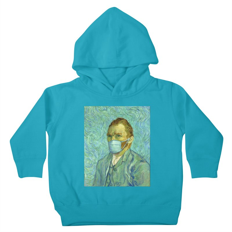 Vincent's Self-Isolation Kids Toddler Pullover Hoody by Thomas Orrow