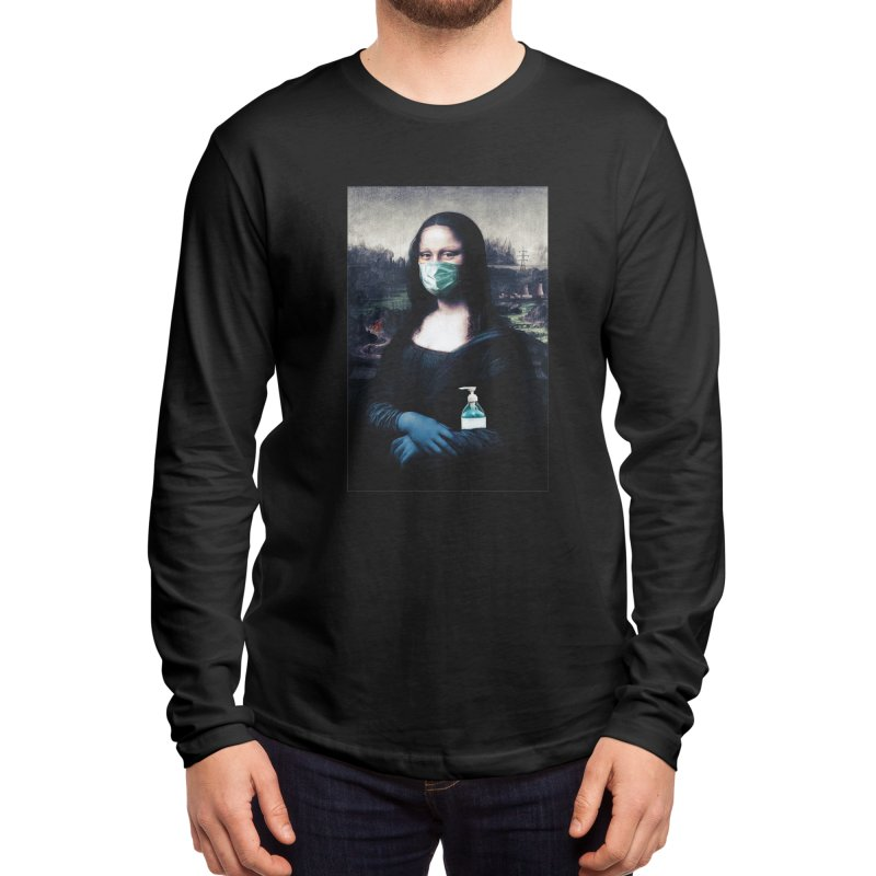 I'm Not Smiling Anymore Men's Longsleeve T-Shirt by Thomas Orrow