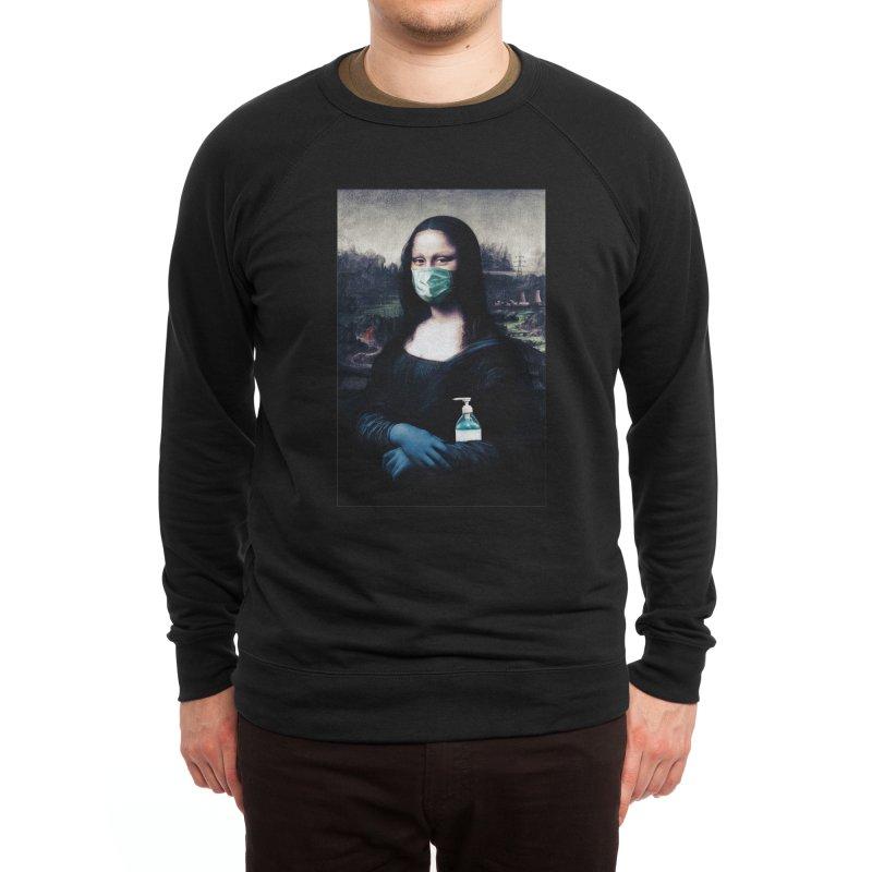 I'm Not Smiling Anymore Men's Sweatshirt by Thomas Orrow