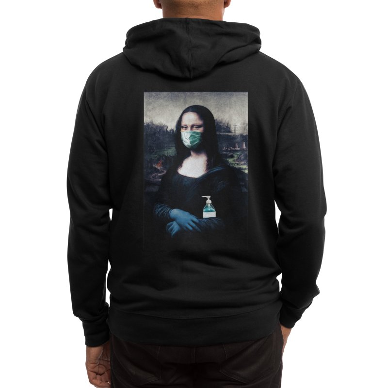 I'm Not Smiling Anymore Men's Zip-Up Hoody by Thomas Orrow