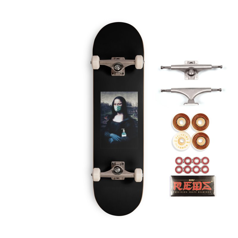 I'm Not Smiling Anymore Accessories Skateboard by Thomas Orrow
