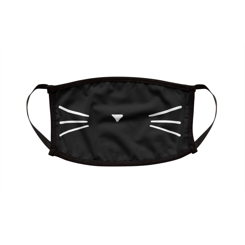 Meow Meow Accessories Face Mask by Thomas Orrow