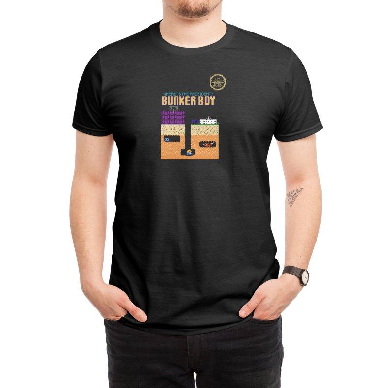 Bunker Boy Men's T-Shirt by Thomas Orrow