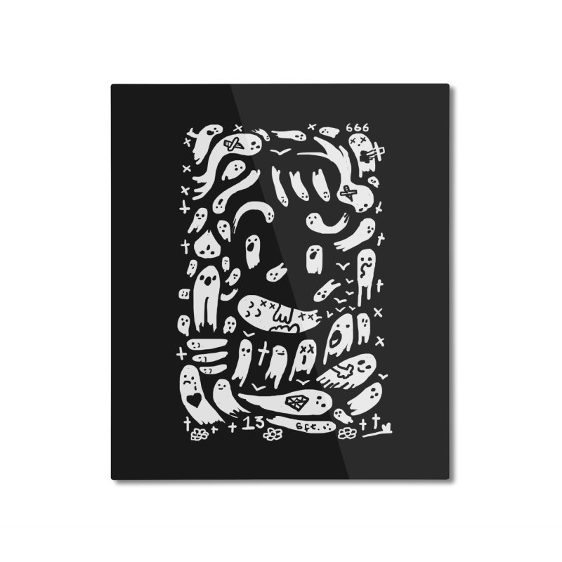 Ghostface Home Mounted Aluminum Print by Thomas Orrow