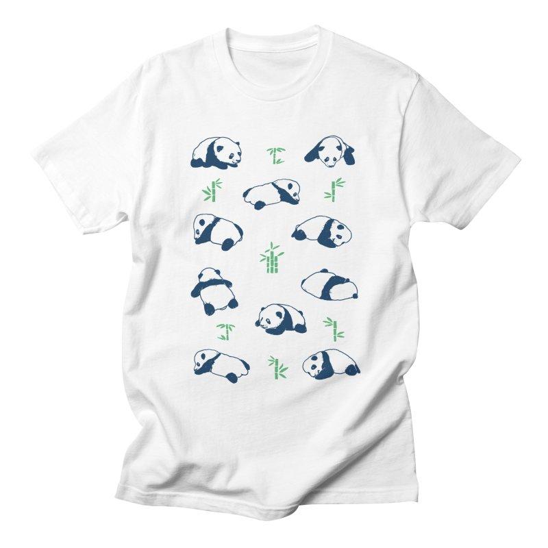 Panda Hugs Men's T-Shirt by Thomas Orrow