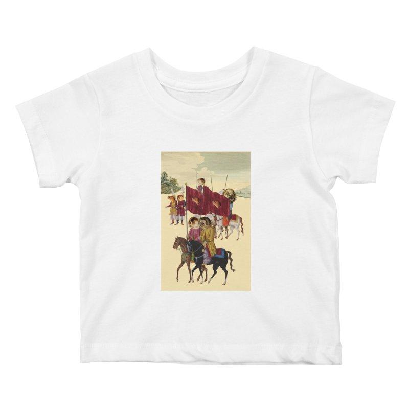 The Ottoman Empire Kids Baby T-Shirt by Thomas Orrow