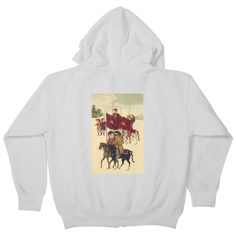 The Ottoman Empire Kids Zip-Up Hoody by Thomas Orrow
